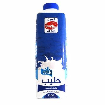 صورة AL AIN FULL CREAM MILK 1LT