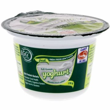 صورة AL AIN NATURAL YOGHURT 170GM