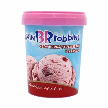صورة BASKIN&ROBBIN VB STRAWB 500ML