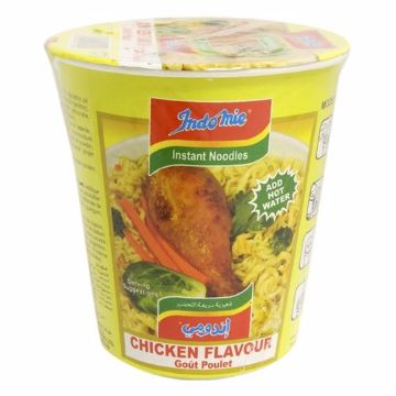 صورة INDOMIE CUP CHICKEN NOODLE 55G