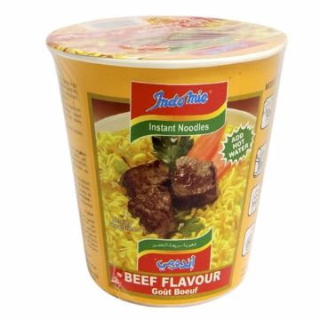 Picture of INDOMIE CUP BEEF NOODLE 60G