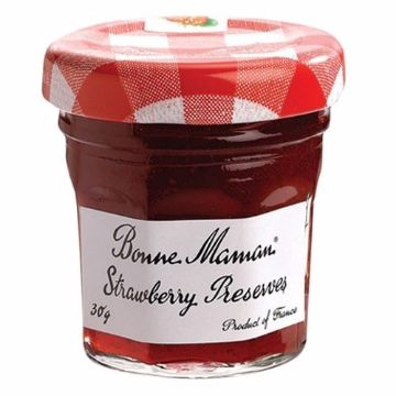 Picture of BONNEMAMAN STRAWBERRY JAM  30G