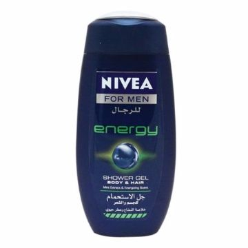 صورة NIVEA SHOWER ENERGY MEN 250ML