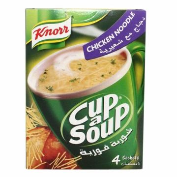 Picture of KNORR CUP A SOUP CHICKE NOODLE