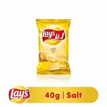 Picture of LAYS P/CHIPS SALT 40GM