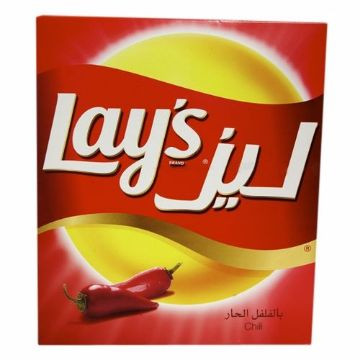 Picture of LAYS P/CHIPS CHILLY DUP.14x25G