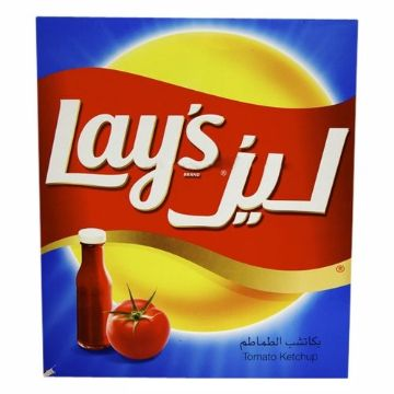 Picture of LAYS P/CHIPS KETCHUP  14X25G