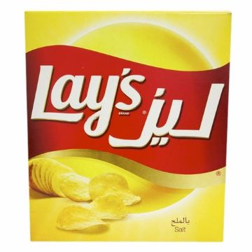 Picture of LAYS P/CHIPS SALT DUP. 14X25G