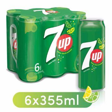 صورة 7UP SHRINK-WRAP CANS 6X355ML