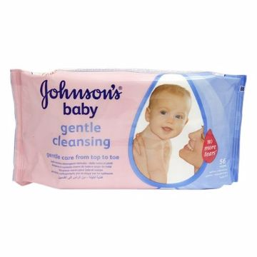 Picture of J&J WIPES GENTLE CLEANSING 56s