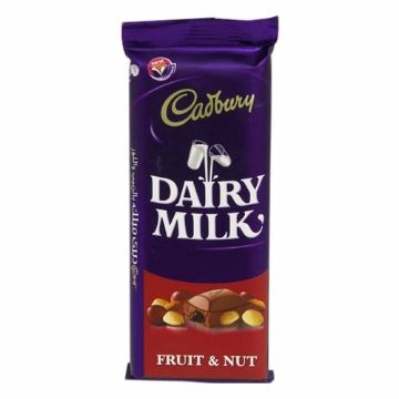 صورة CADBURYS FRUIT & NUT 100GM