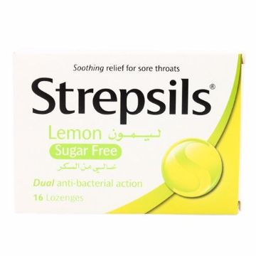 Picture of STREPSILS SUGAR FREE 24'S