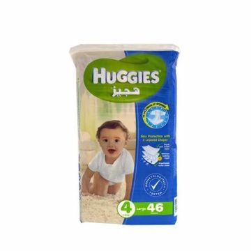 صورة HUGGIES SUPER FLEX LARGE 4X46'