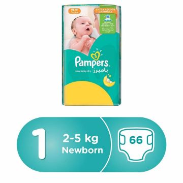 صورة PAMPERS NB M3P S1 66'S JP