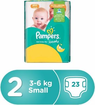 صورة PAMPERS NB CP S2 23'S