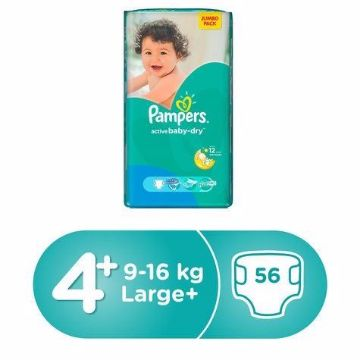 Picture of PAMPERS AB M3P S4P 56'S JP