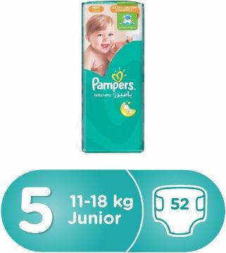 صورة PAMPERS AB JUMBO PACK JUN 52