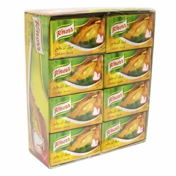 Picture of KNORR 1LX24CUBE CHICK BOUILLON
