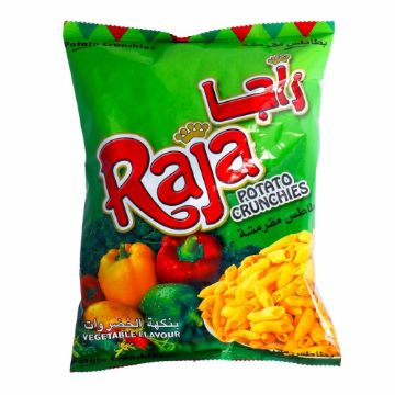 صورة RAJA POTATO CRUCHIES VEG 70GM