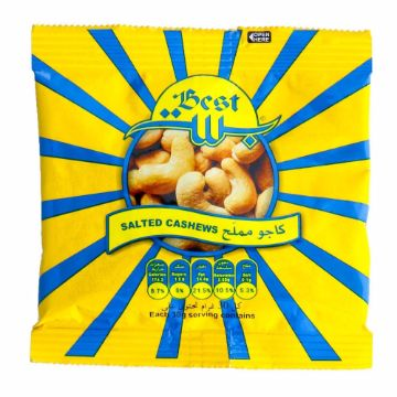 Picture of BEST CASHEW POUCH 30GM