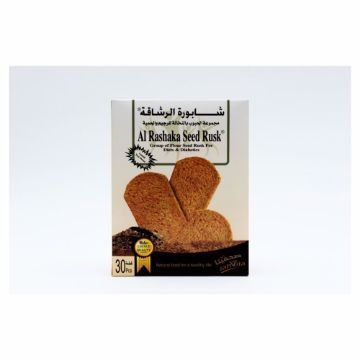 Picture of Al Rashaka Rusks Flour Seeds for Diet and Diabetics 420 gms