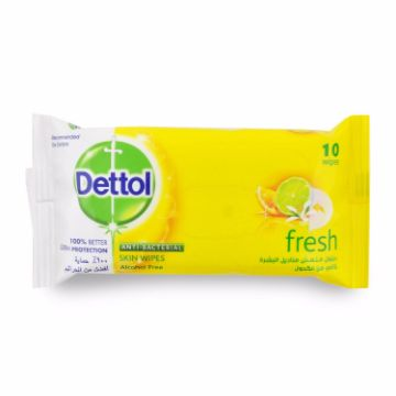 Picture of DETTOL ANTIBAC WIPES FRESH 10s