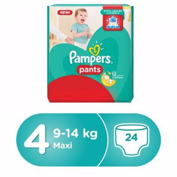 صورة PAMPERS PANTS S4 24 CP