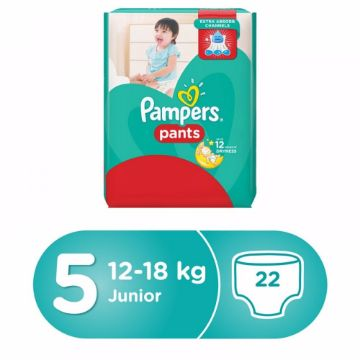 صورة PAMPERS PANTS S5 22 CP