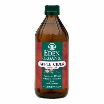 Picture of EDEN ORGAN APPLE VINEGAR 473ML