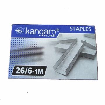 Picture of KANGARO STAPLE PINS 26/6 PC