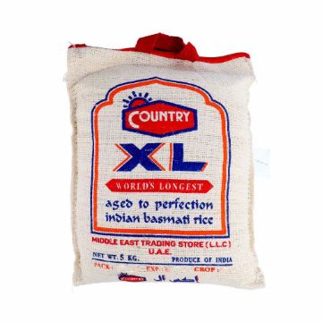 Picture of COUNTRY XL BASMATI RICE 5 KG