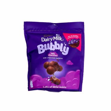Picture of CADBURY DAIRY MILK BUBBLY DOY BAG 204GM