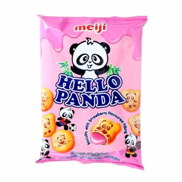 Picture of HELLO PANDA STRAWBERY SACHT35G