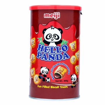 Picture of HELLOPANDA CHOCO BISC CAN 400G