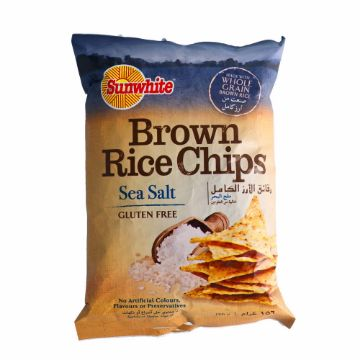 صورة BROWN RICE CHIPS SEA SALT156G