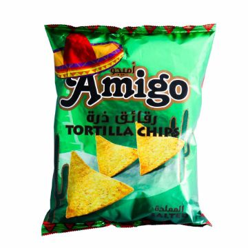 صورة AMIGO TORTILL CHIP SALT 250GM