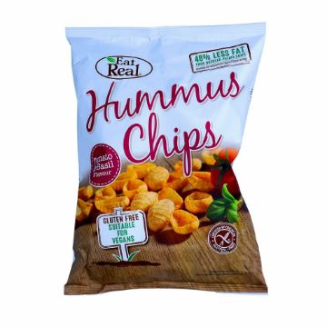 Picture of HUMUS CHIPS TOMATO - BASIL135G