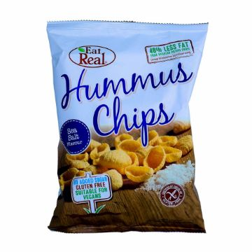 صورة HUMUS CHIPS SEA SALT 135G