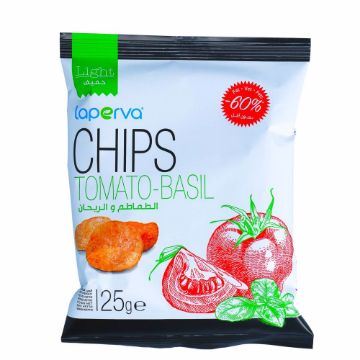 Picture of LAPERVA CHIPS TOMATO BASIL25GM