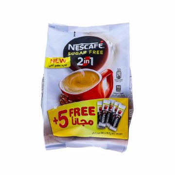 صورة NESCAFE 2IN1 5STICK FREE 30X11.7G