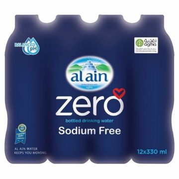صورة AL AIN WATER ZERO12X330ML