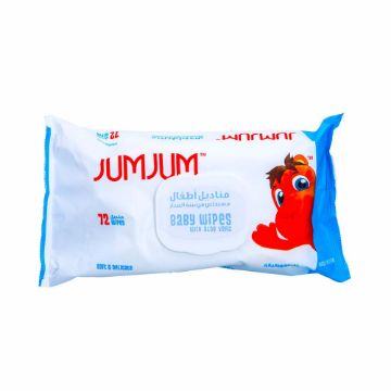 Picture of JUMJUM BABY WIPES 72S