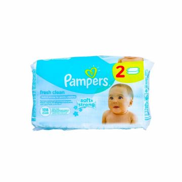 Picture of PAMPERS WIPES FRESH 128s