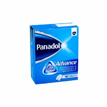 Picture of PANADOL ADVANCE 48'S TABLETS