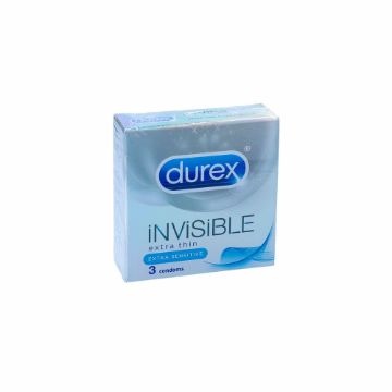 Picture of DUREX INVISIBLE 3'S