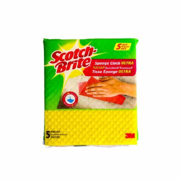 Picture of 3M SCOTCH BRITE SPONG CLOTH5CT