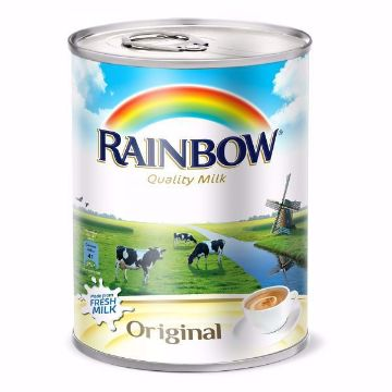 صورة RAINBOW EVAP MILK ORG VIT-D 410GM