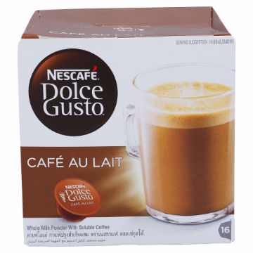 Picture of DOLCE GUSTO CAFE AU LAIT16X10G