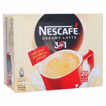 Picture of NESCAFE 3IN1 CRMY LATE20X22.5G