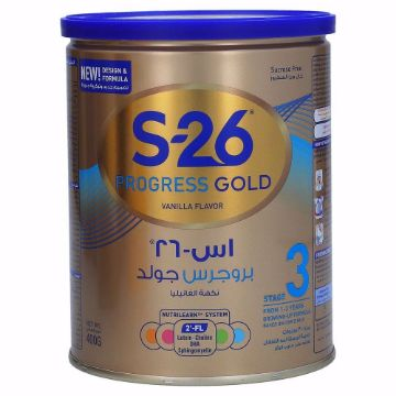 Picture of S-26 PROGRESS GOLD 3 CAN 400GM